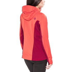 Marmot ROM Softshell Jacket Women Scarlet Red/Brick